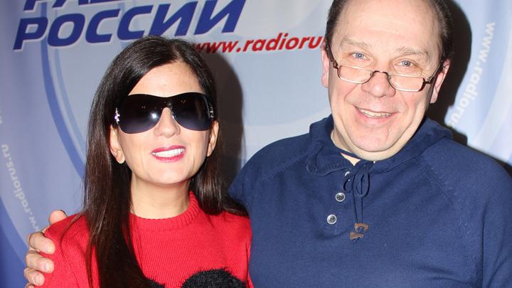 Певица и ведущая Диана Гурцкая и народный артист России Владимир Девятов.
