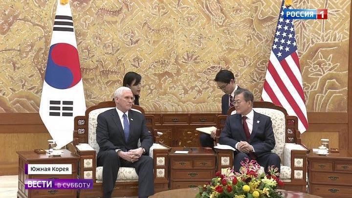 Пенс предпочел встретиться не с северокорейскими делегатами, а с перебежчиками