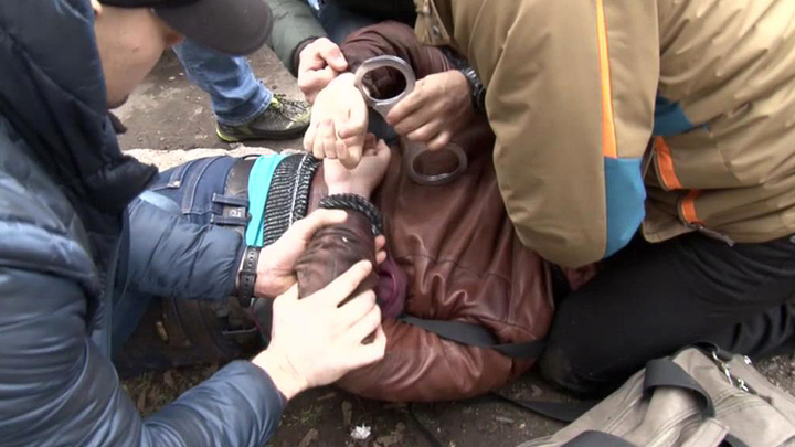 В Симферополе задержали украинского шпиона