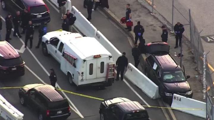 Стрельба около штаб-квартиры разведки США: трое пострадали