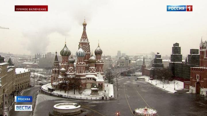 Атмосферное давление в Москве идет на рекорд