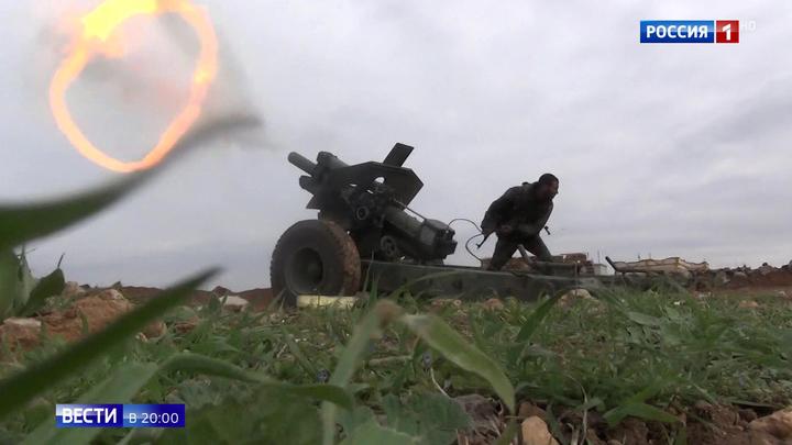 В Сирии идет зачистка окруженных боевиков