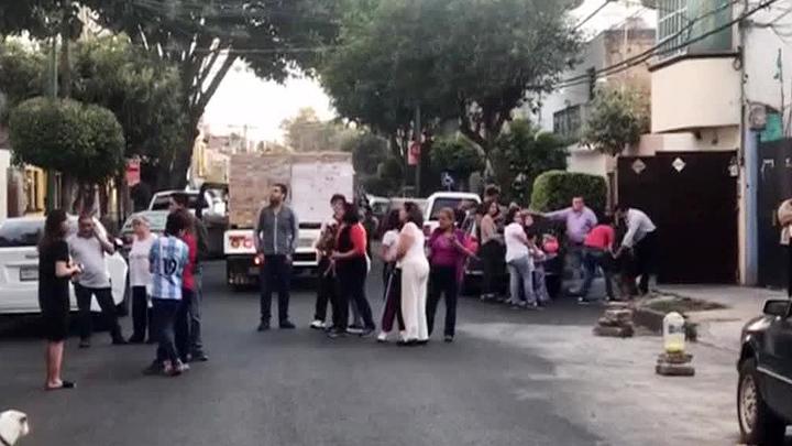На юге Мексики произошло мощное землетрясение
