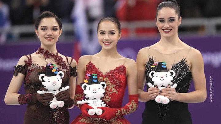 Драма на льду: золото у Загитовой, серебро у Медведевой (2018)