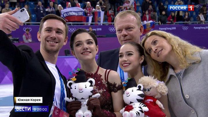Подруги и конкурентки: Загитова смогла отобрать золото у Медведевой