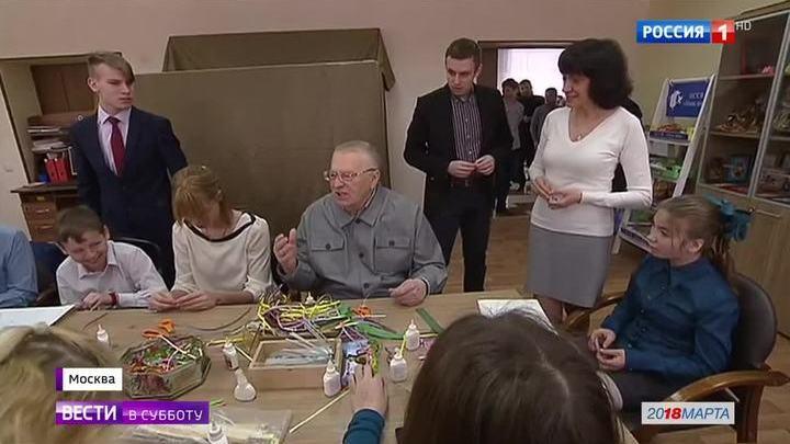 Жириновский занялся квиллингом, а Титов вернул бизнесмена из Лондона