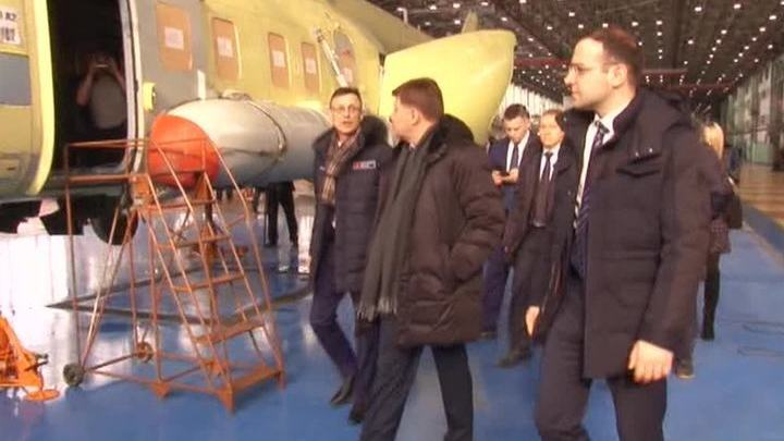 Российский вертолетный завод начнет выпуск легких самолетов