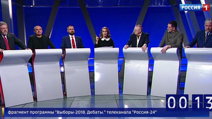 Кандидаты в президенты поспорили о социальных лифтах