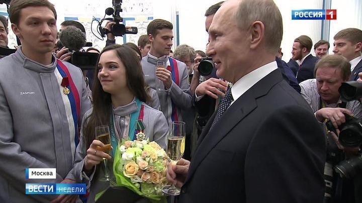 Российские спортсмены старались создать в Пхенчхане домашнюю обстановку