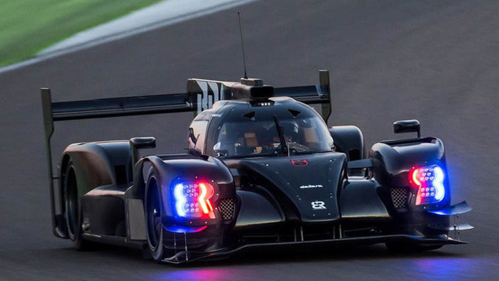 Первые тесты BR1 (фото: SMP Racing).