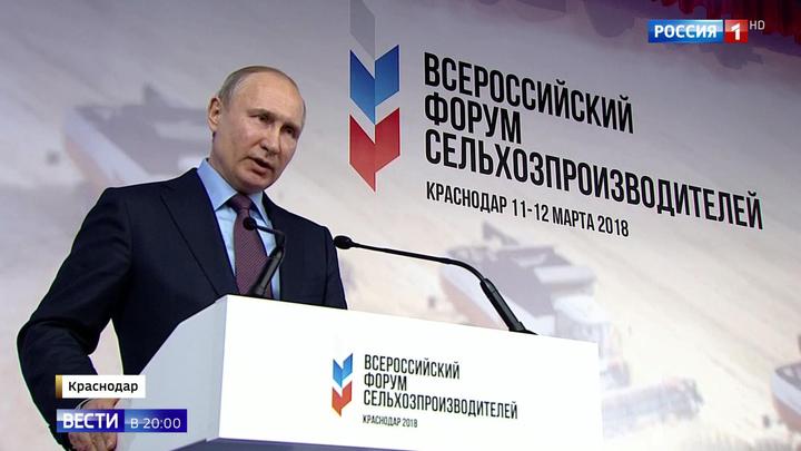 Россия выходит в лидеры агропромышленного рынка