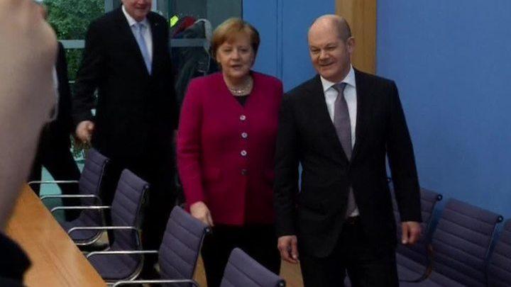 Четвертый срок: бундестаг голосует по кандидатуре Меркель на пост канцлера