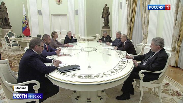 Путин призвал соперников по выборам к сотрудничеству