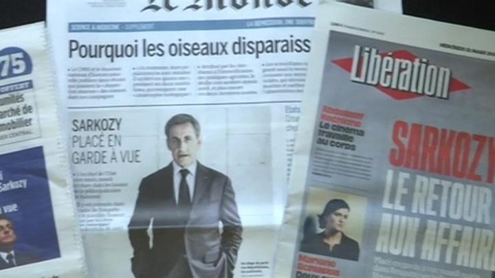 Сын Каддафи готов дать показания по делу Саркози. Что ждет бывшего лидера Франции