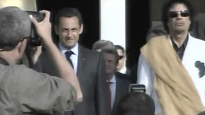 Тайные спонсоры: что связывало Саркози и Каддафи