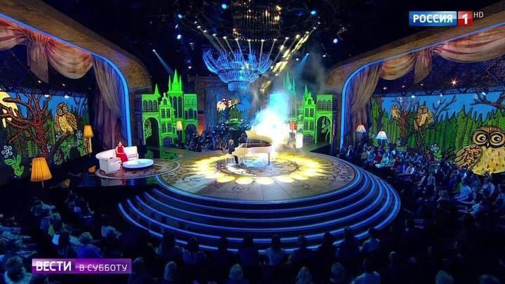 """Впервые на телеэкране объединились два суперпроекта (сюжет программы """"Вести в субботу"""")"""