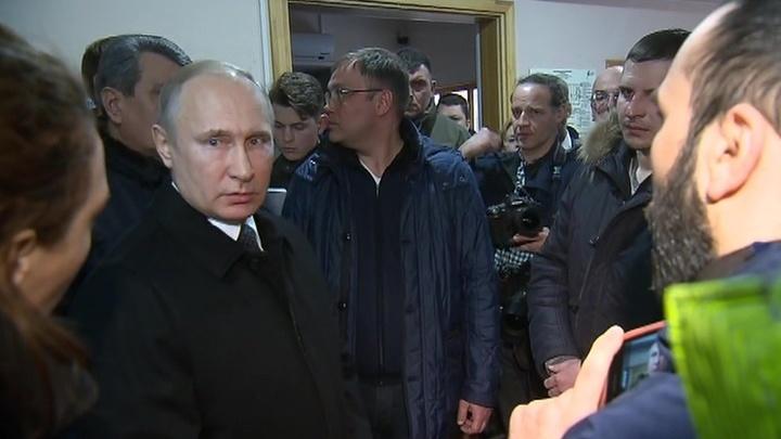 Никого прикрывать не будут: Путин ответил кемеровчанам об отставке Тулеева