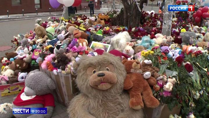 Путин лично принес кемеровчанам свои соболезнования