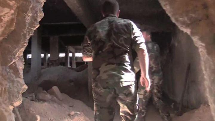 Боевики оставили под Джобаром гигантский подземный город