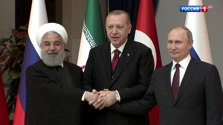 Уникальный формат: о чем договорились Россия, Иран и Турция