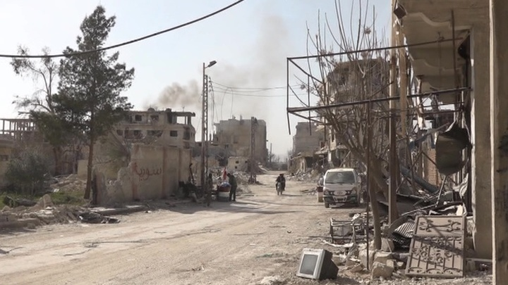 8 тысяч боевиков согласились выйти из сирийской Думы