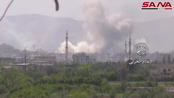Сирия: авиабаза в Хомсе атакована ракетами
