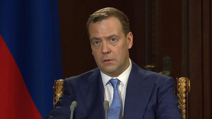 Медведев: санкции США - это протекционизм