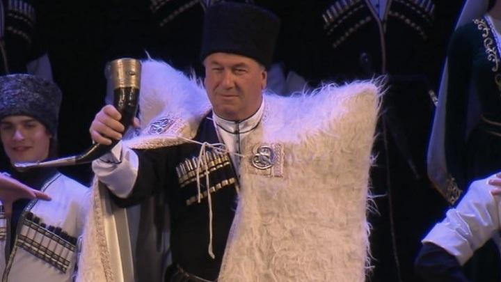 Ансамбль народной песни и танца Абхазии выступил в столице