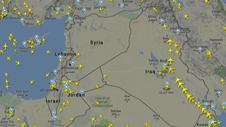 Авиаперевозчиков предупредили об опасности полетов над Средиземноморьем