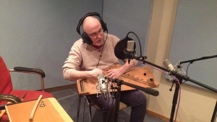 Сергей Старостин записывается на Радио России.