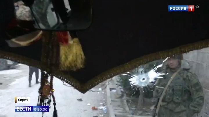Съемочная группа ВГТРК попала под обстрел в Сирии: ранен оператор