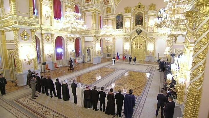 Путин иностранным послам: ситуация становится хаотичной, но здравый смысл возобладает