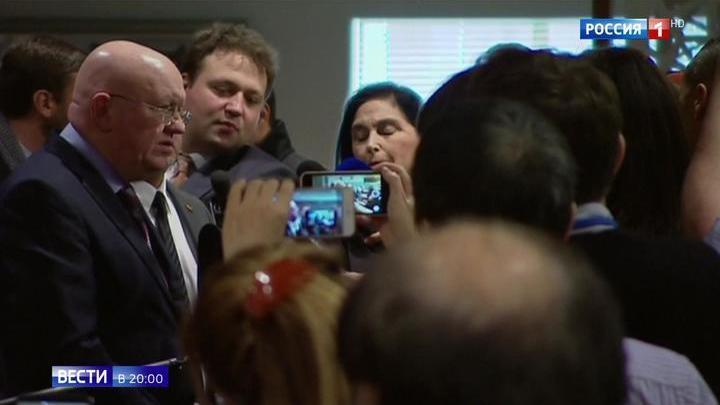 """Василий Небензя: Россия надеется, что """"точка невозврата"""" в Сирии еще не пройдена"""