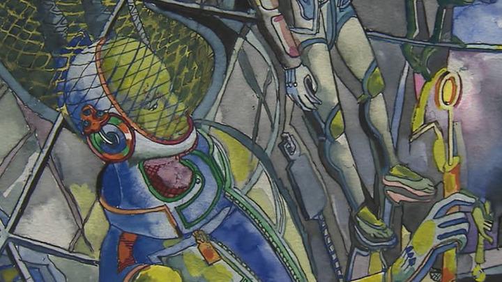 """На выставке """"Михаил Ромадин. Солярис"""" можно увидеть эскизы к фильмам Андрея Тарковского"""