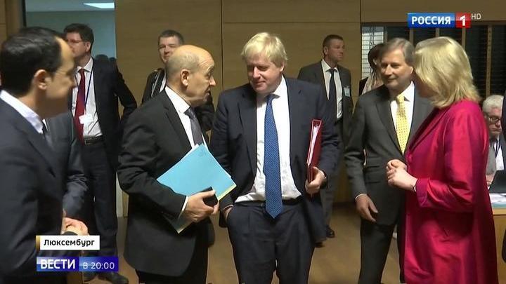 Больше пафоса: Совет ЕС поддержал удары по Сирии единодушно