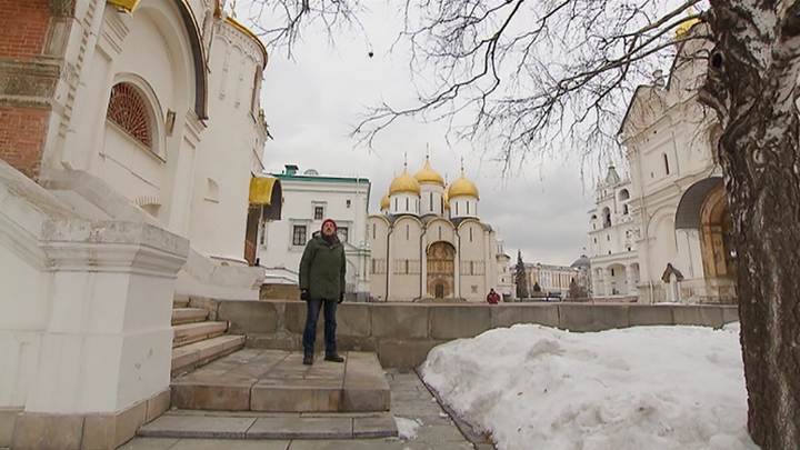 Облюбование Москвы. Белый кречет