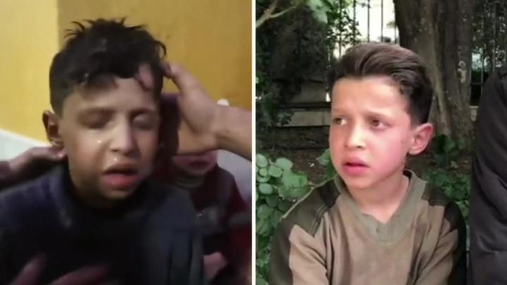 """История сирийского мальчика из ролика о """"химатаке"""" на Западе никого не заинтересовала"""
