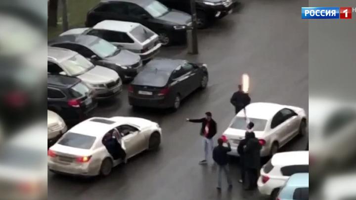 В Люберцах устроили фотографирование со стрельбой