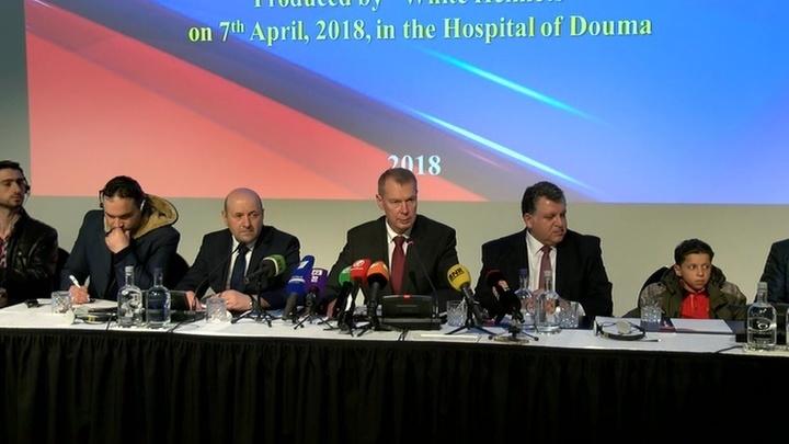 Картинки по запросу российскую пресс-конференцию в Гааге