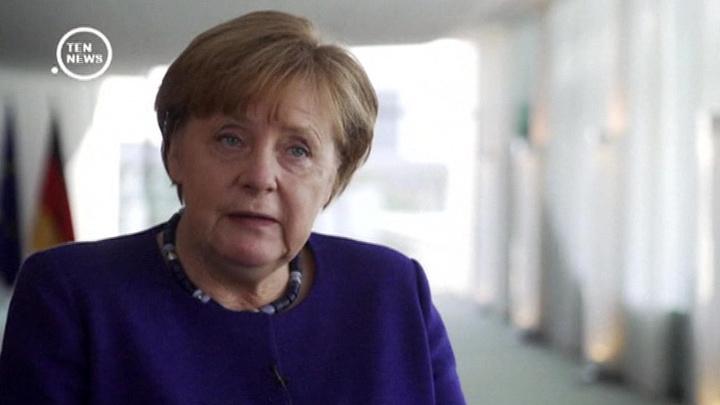 Ангела Меркель обсудит с Дональдом Трампом санкции против России