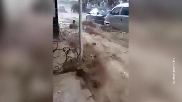 Дамаск уходит под воду