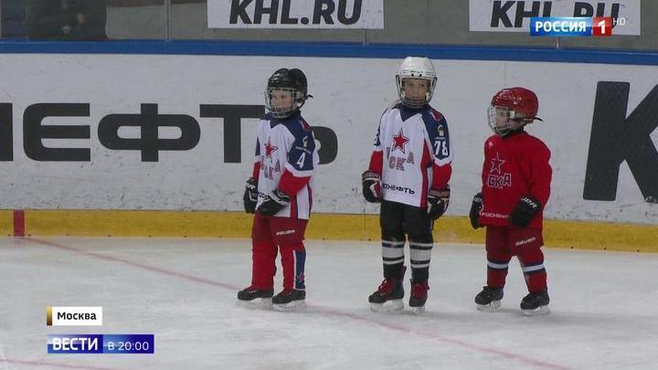 Старейший спортивный клуб России ЦСКА отмечает 95-летний юбилей