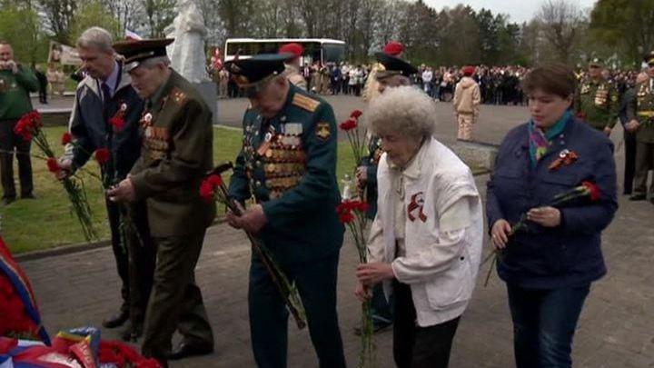 В польском Бранёво проходит акция памяти советских воинов