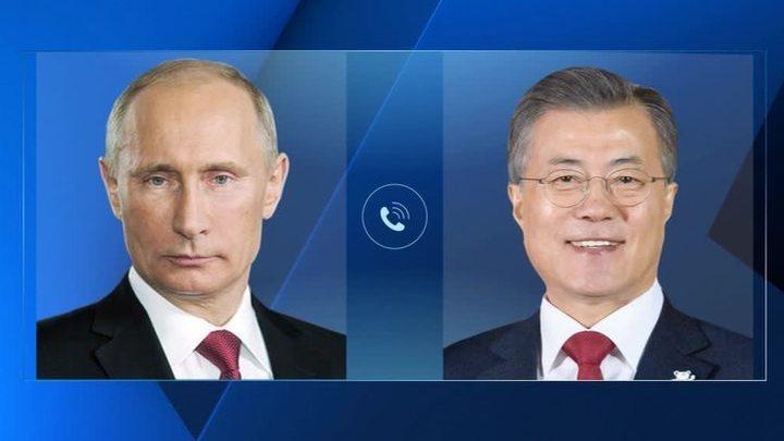 Лидеры России и Южной Кореи обсудили переговоры с КНДР