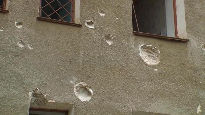Армия Украины несколько дней не прекращает обстрелы жилых домов