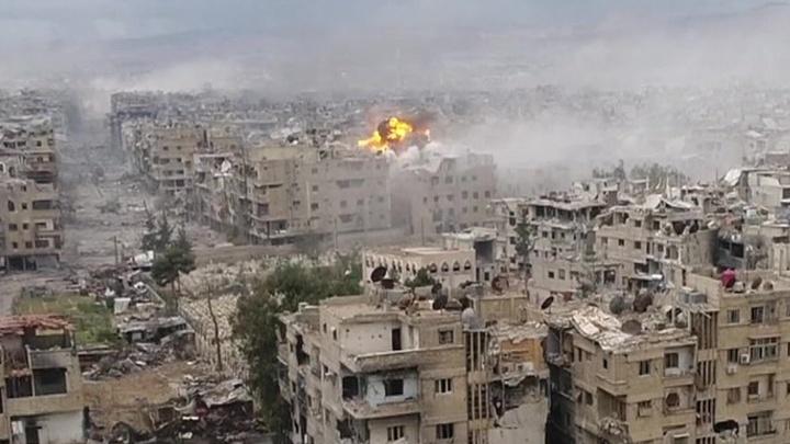Бои за квадратные метры: сирийская армия очищает окраины Дамаска