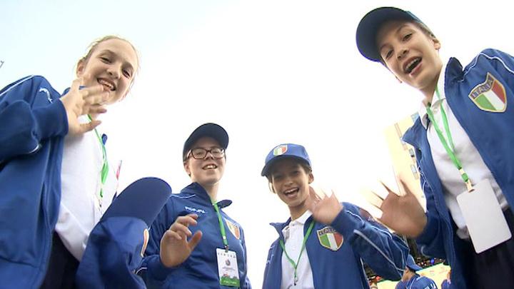 Молодежь из 60 стран собралась в Казани на играх юных соотечественников