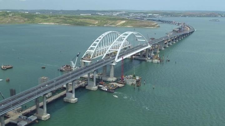 Путин проедет по Крымскому мосту