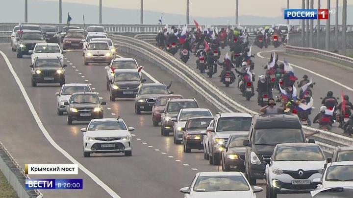15 минут вместо 15 часов: Крымский мост в первый же день побил рекорды Керченской переправы