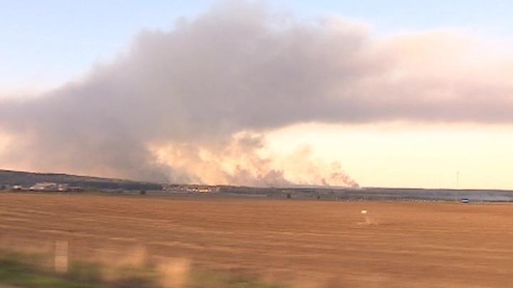 МЧС: открытое горение возле поселка Пугачево ликвидировано